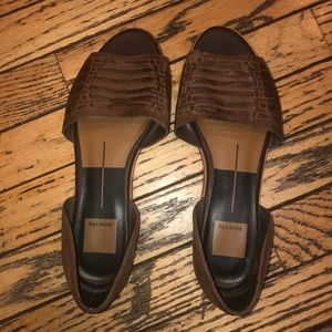 Dolce Vita Leather Flat, size 8